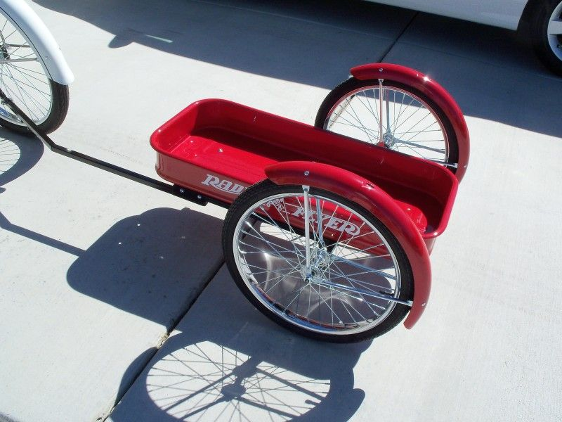 Show Your Bike Trailer And How You Hook It Up To Your Bike