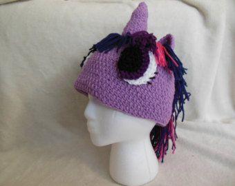 CELIA - LOL Twilight sparkle inspired hat