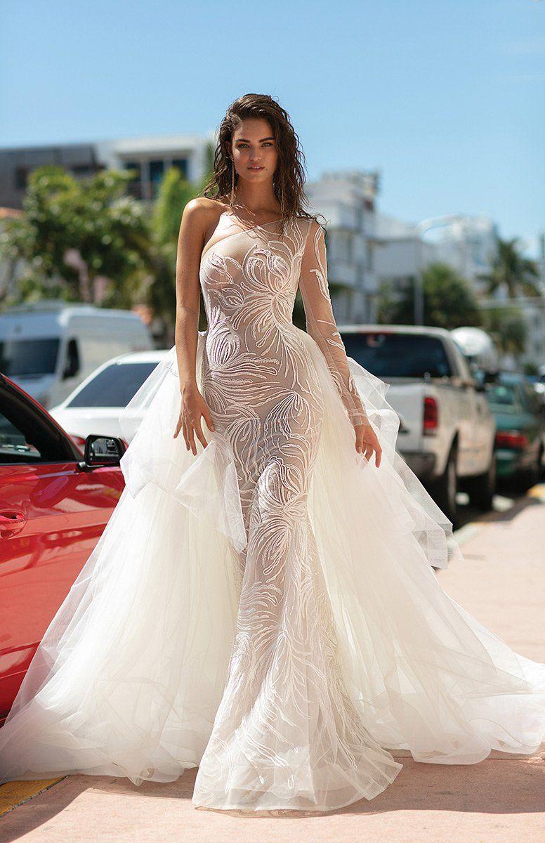 Berta One Shoulder 19 04 Stunning Wedding Dresses Wedding