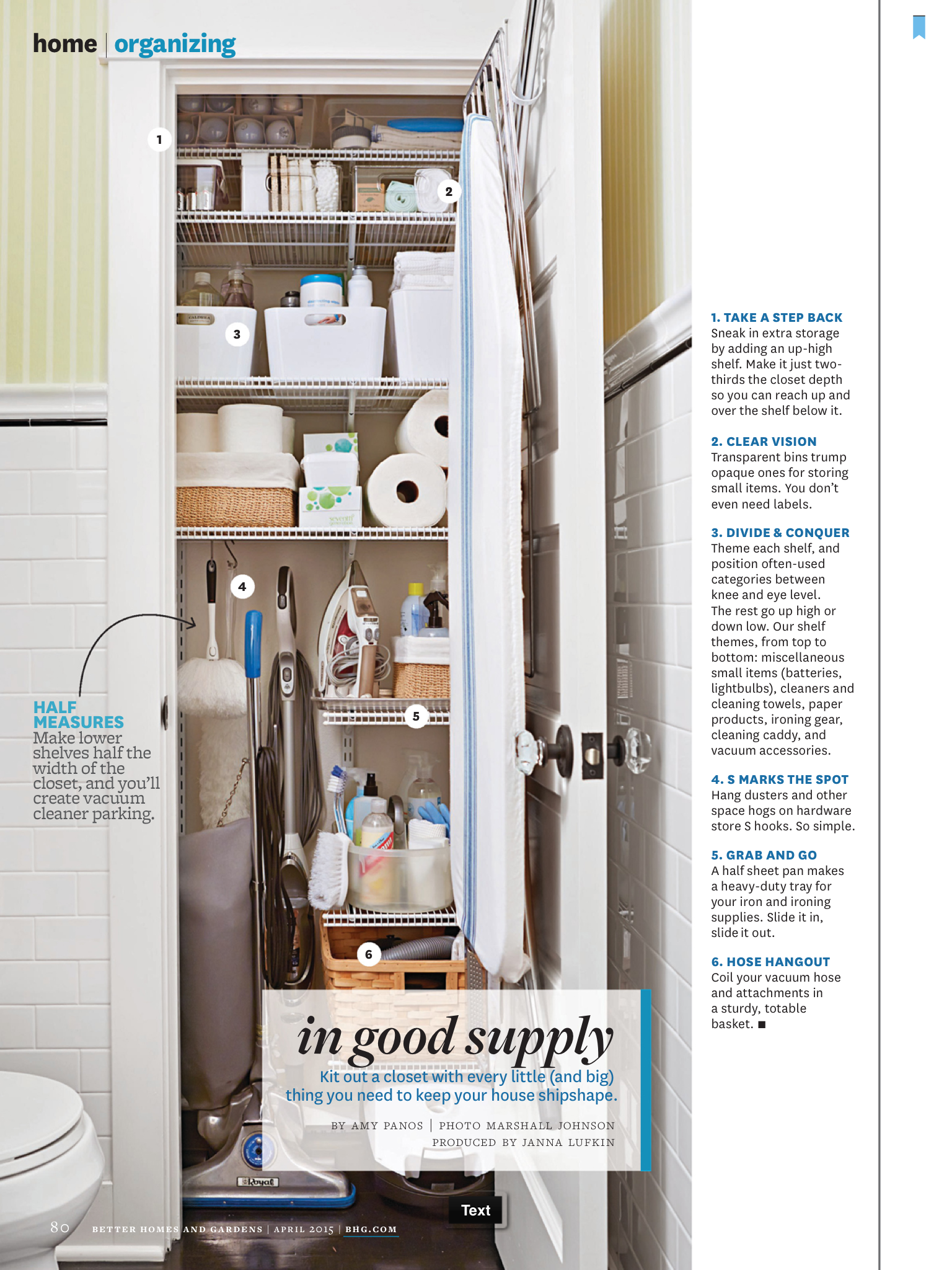 Pin By Katie Knight On Broom Closets Cleaning Closet Organization Vacuum Cleaner Storage Utility Closet