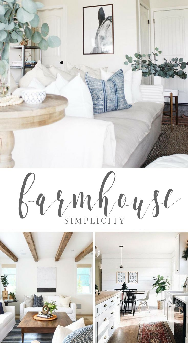 Iu0027m loving all the Farmhouse Simplicity Modern