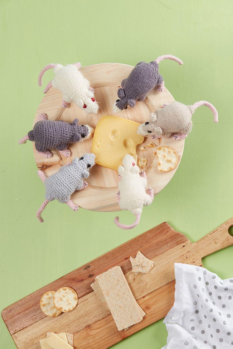 Rat A Cuties Knitted Toys Crochet Knitting Crochet Patterns
