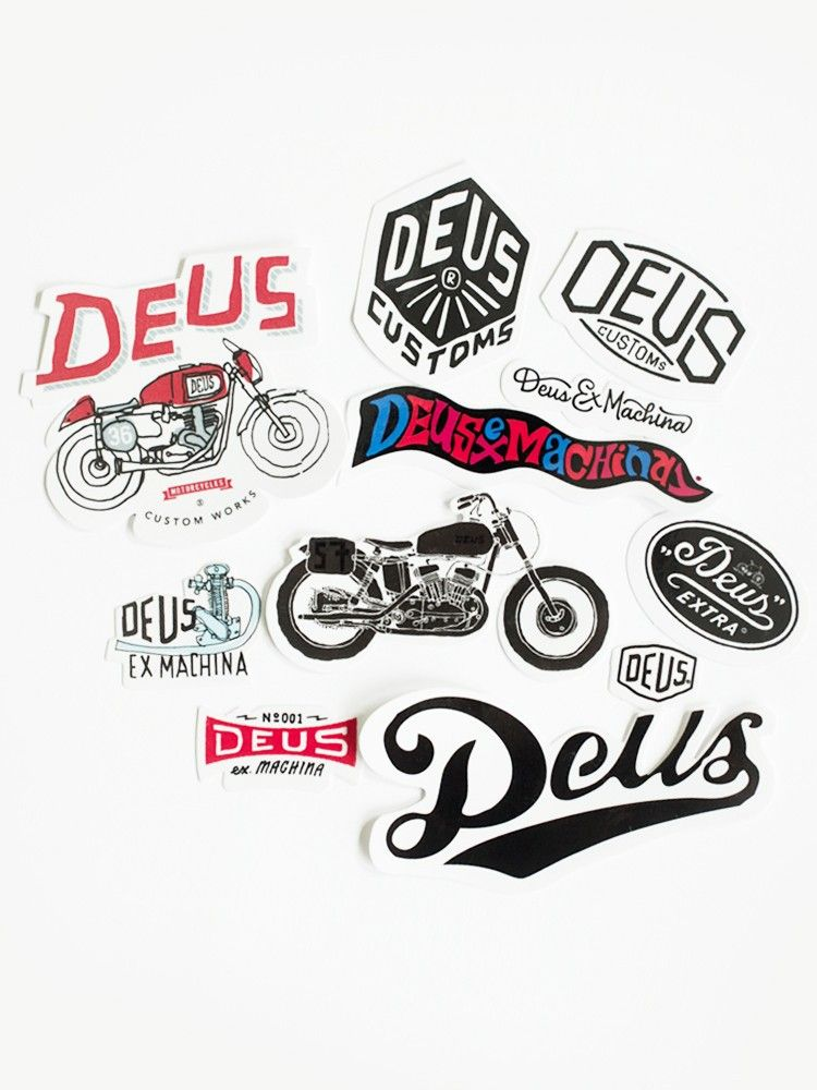 Deus Ex Machina Stickers Uk Hobbiesxstyle