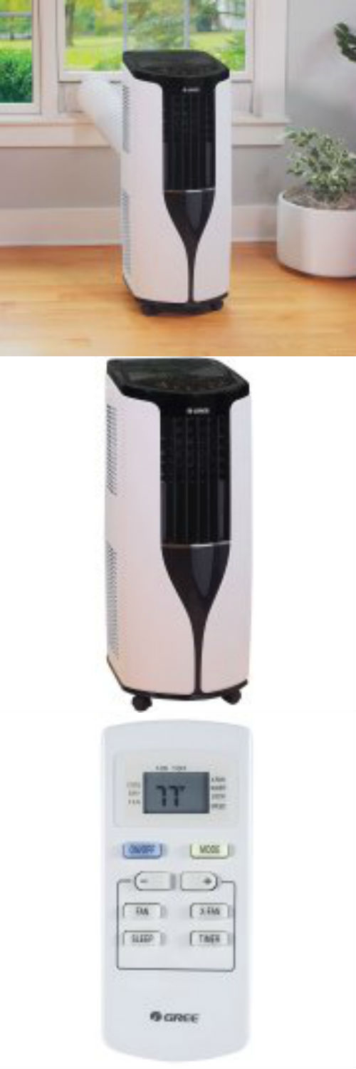 Elegant Decals And Stickers 178081: Gree 8,000 Btu Portable Air Conditioner  G17 8Pacsw Energy Efficiency