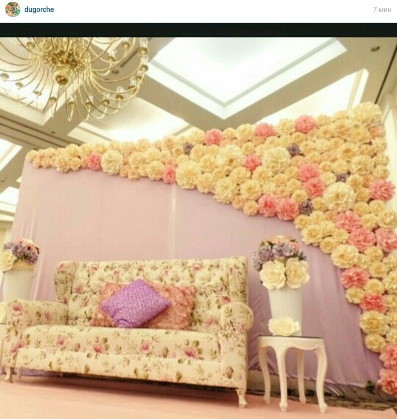 Paper flowers backdrop pinterest flores de papel - Papeles de decoracion ...