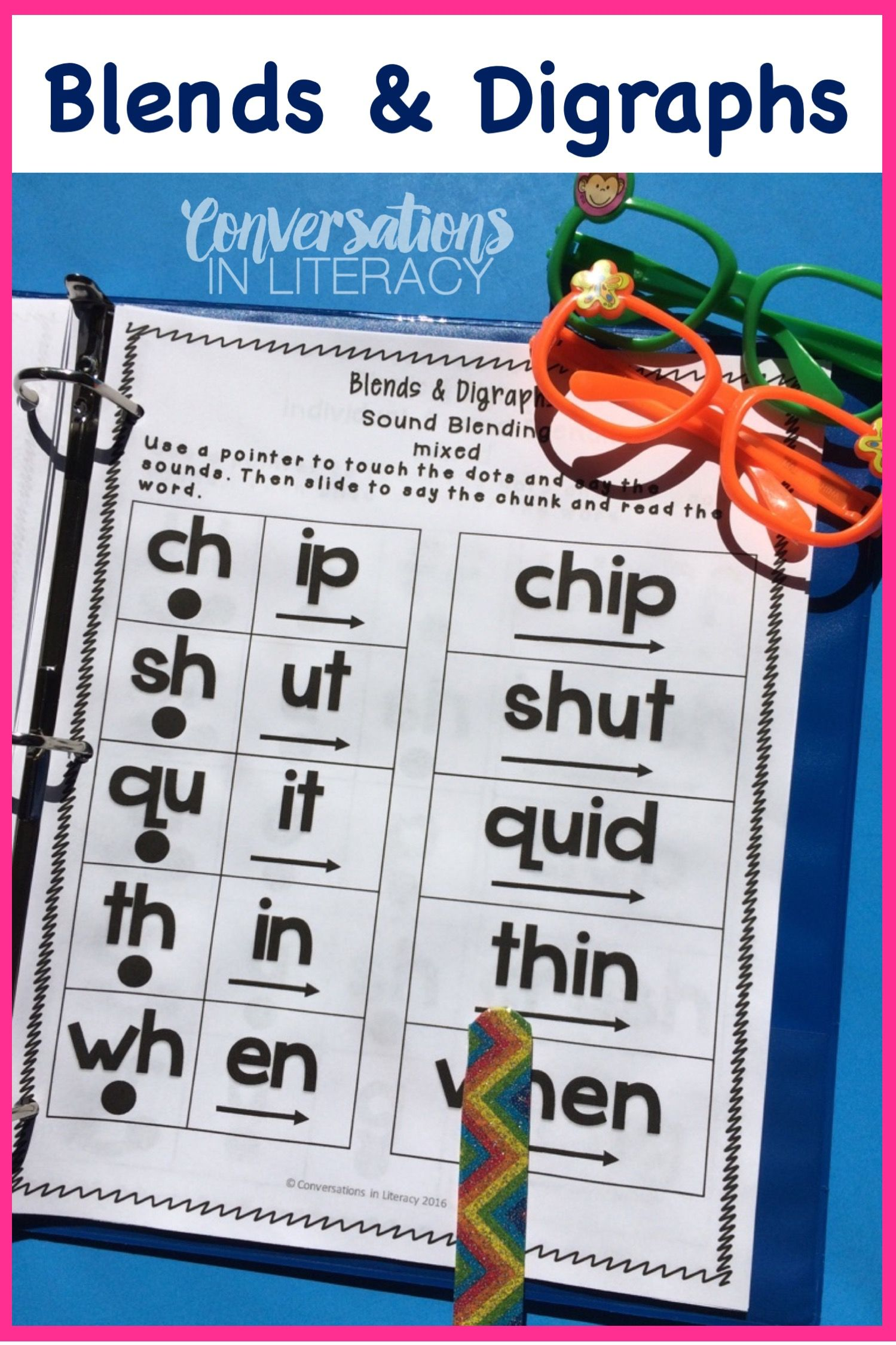 Blends And Digraphs Activities For Fun Learning In The