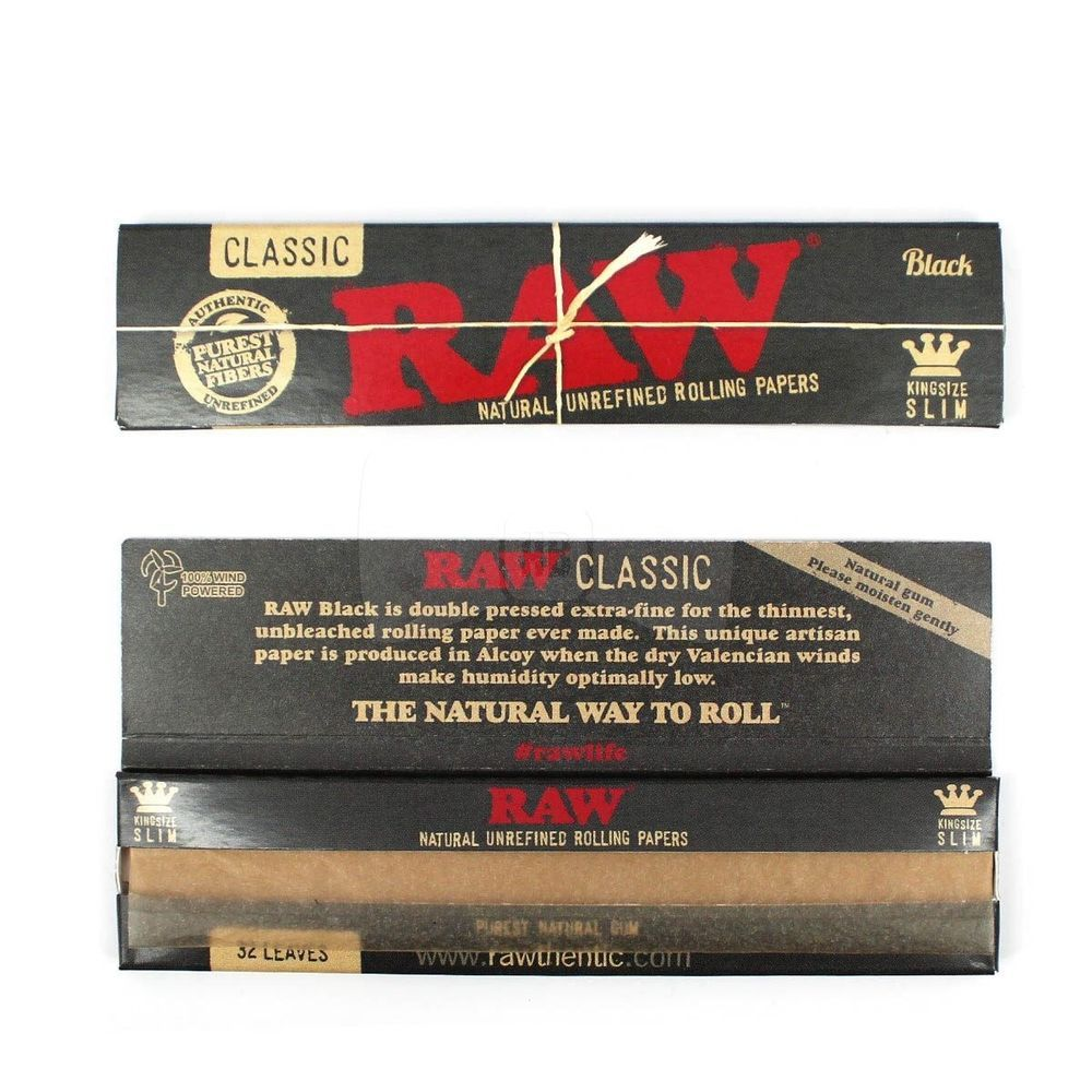 Can You Get High From Smoking Paper Raw Black King Size Rolling Paper Ebay