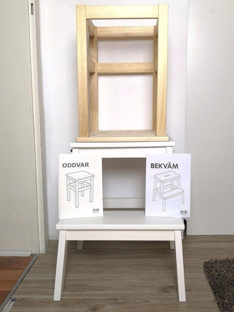 DIY Kochstuhl für Kinder - Ikea Hack für 30 Euro - kleinliebchen