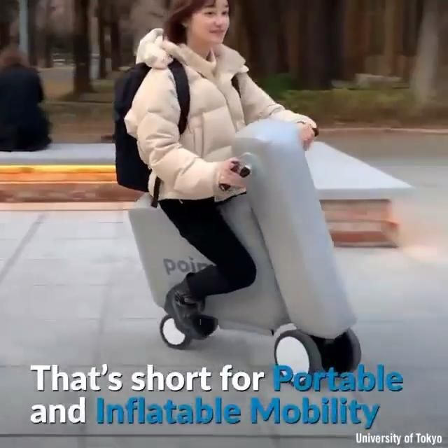 Photo of Cool portable scooter