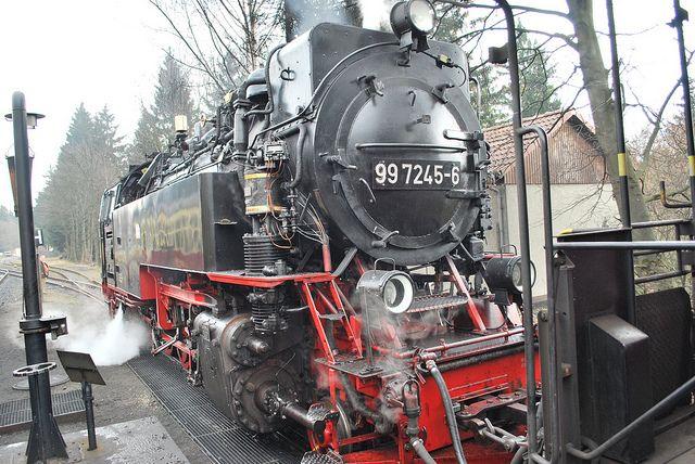Stoomtrein, Harz, Duitsland