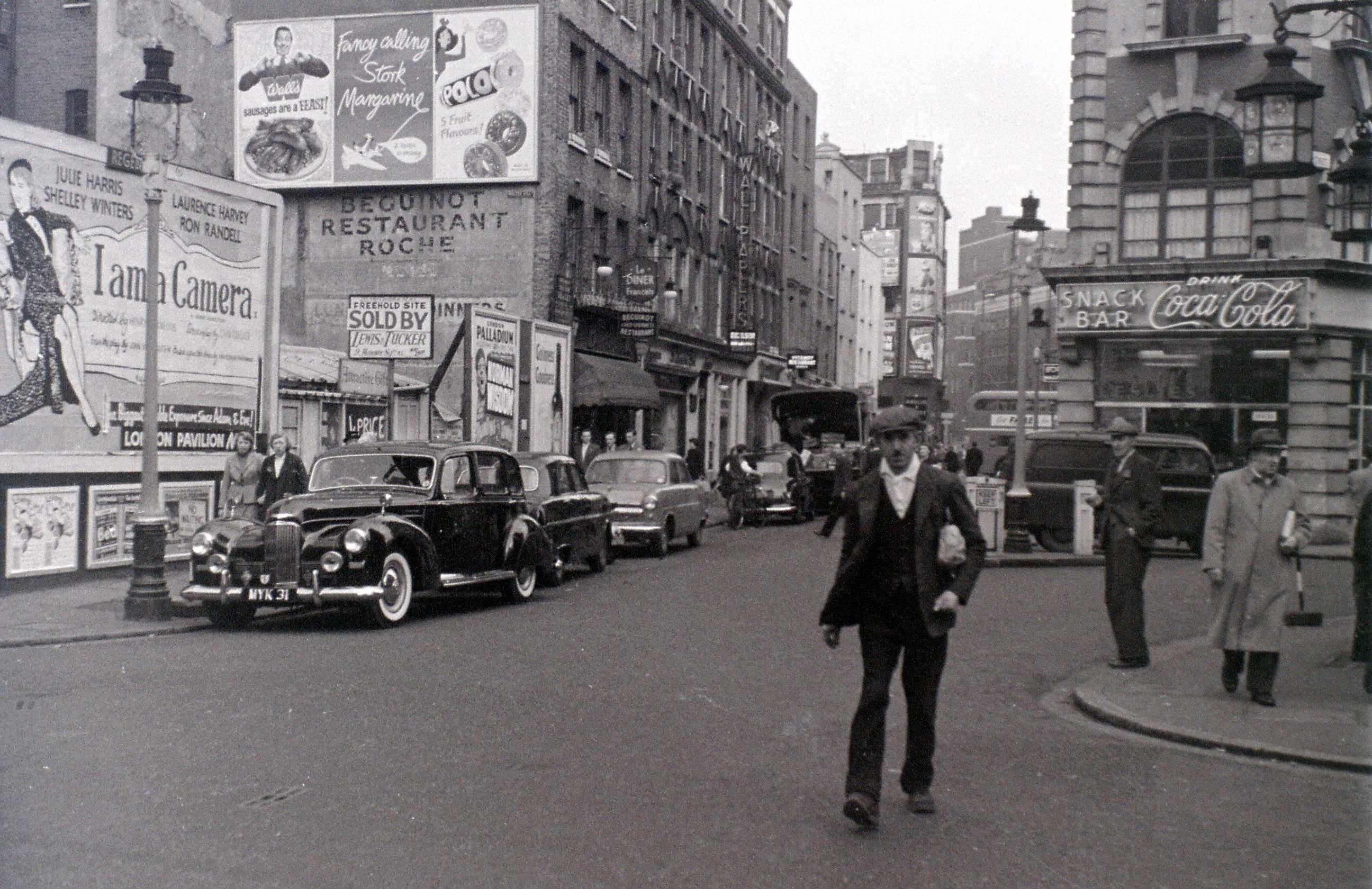 Soho London 5 November 1955 London Pictures London History London Life