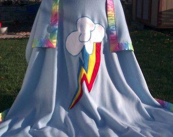 my little pony friendship is magic rainbow dash fleece blanket my