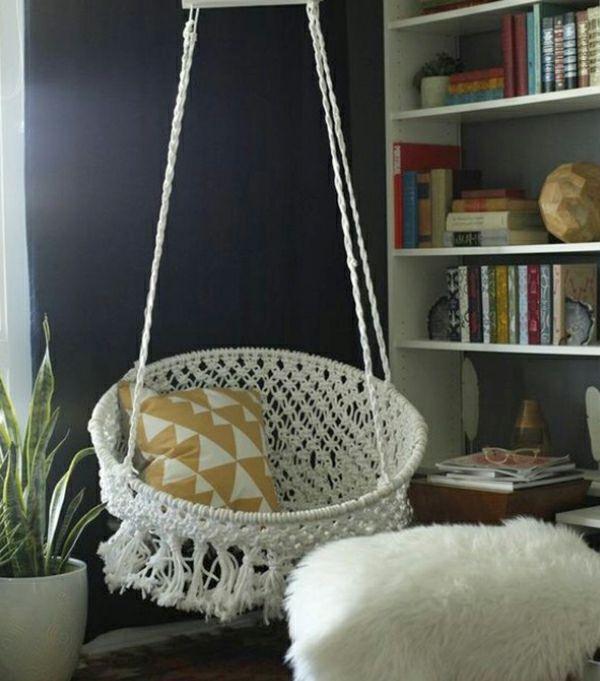 20 DIY Ideen für Hängesessel für eine bessere Entspannung