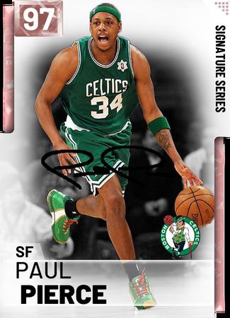 Pin By Angus Sprague On Basketball Paul Pierce Player Card Nba Live