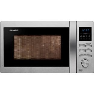 Sharp R322stm Standard Microwave Stainless Steel At Argos Co Uk Your