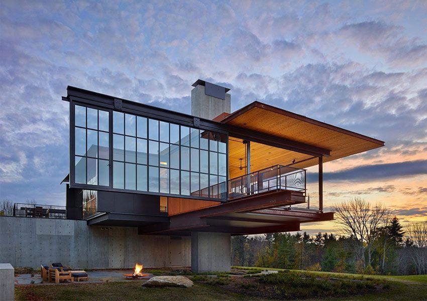 Arquitectura moderna: casa de montaña por Olson Kundig ...