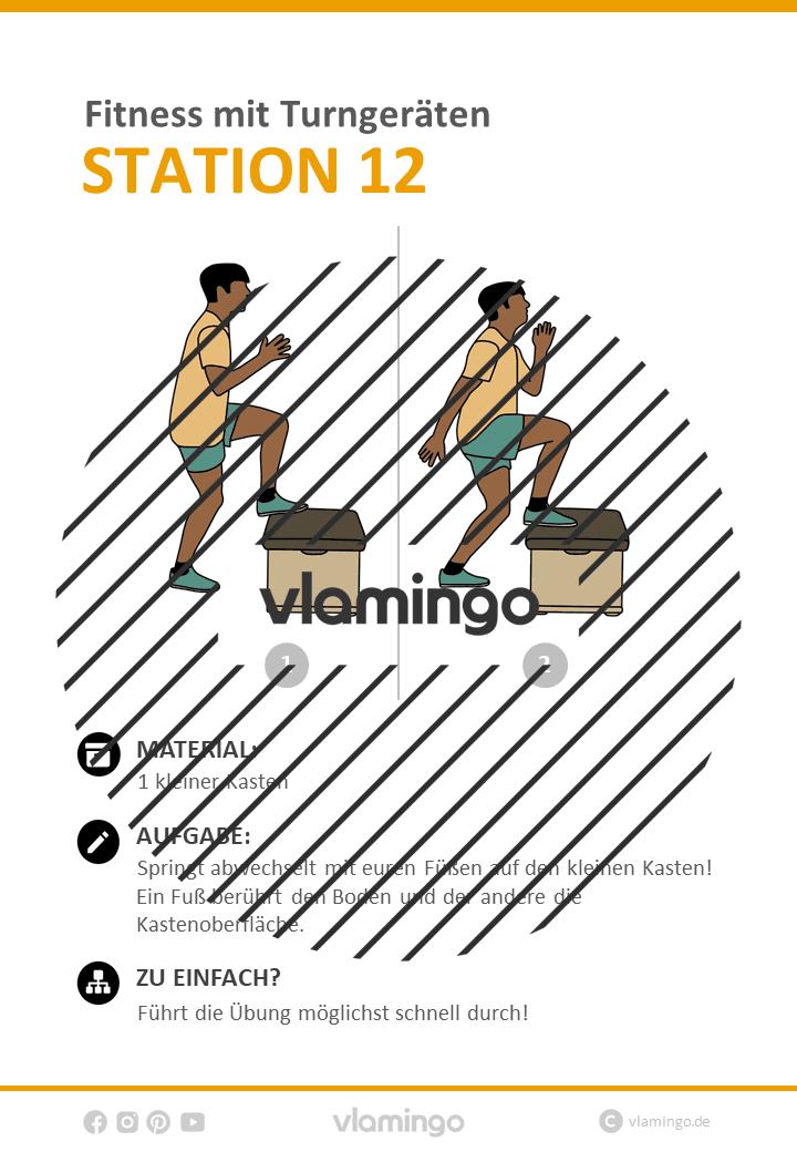 Fitness Mit Turngeräten 34 Stationen übungen Für Den