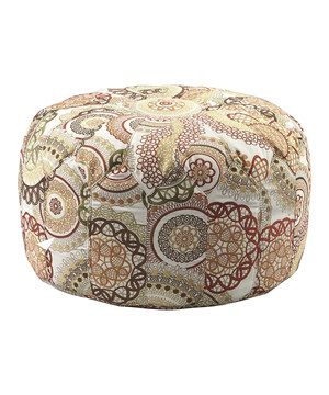 Whether it's called a tuffet, a hassock or a pouf, we call it perfect! This plush ottoman is not only a fully functional stool and footrest, but it also makes a darling addition to décor.