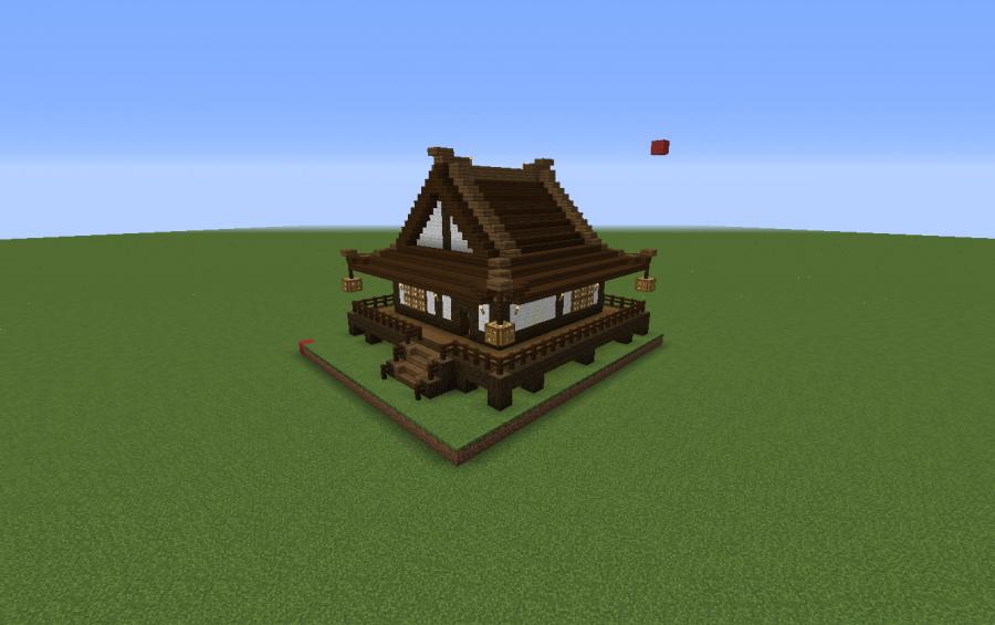 Imagen Relacionada Minecraft Japanese House Japanese Style House Minecraft Houses Survival