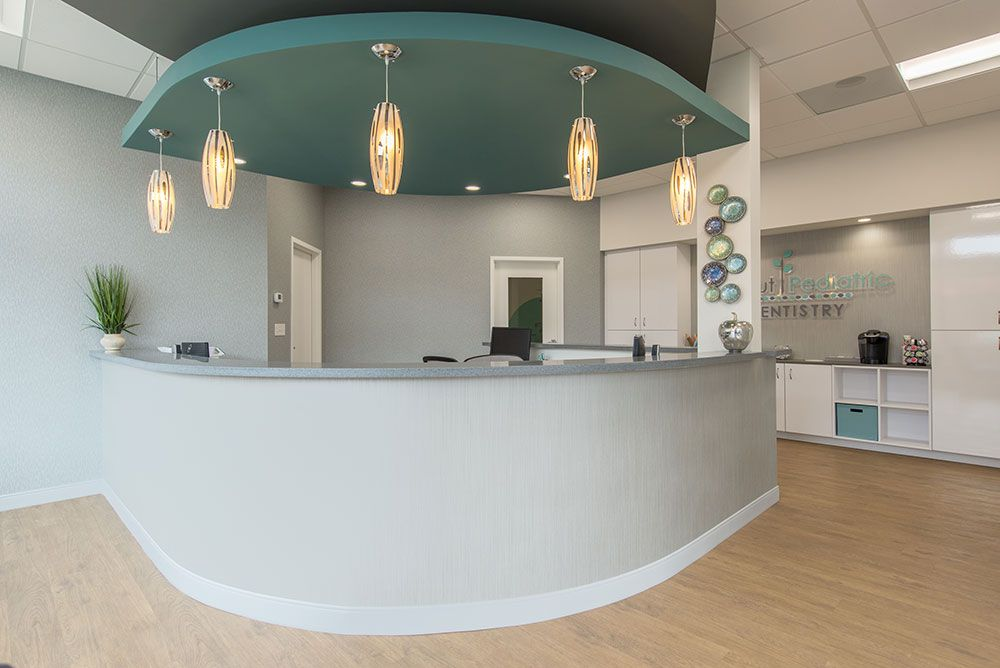 Apex design build designed and constructed new 2500 sf space for a 8 chair pediatric