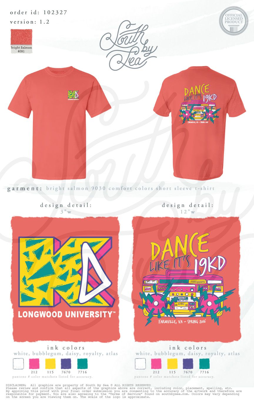 Behind the chair shirts - Kappa Delta Kd Dance Like It S 19kd 90s Theme 80s Theme