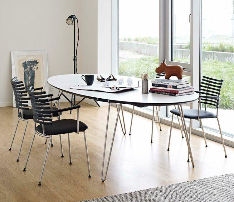 Table et chaises avec déco salle à manger idées 29 photos table