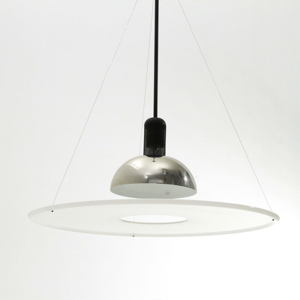 For Sale Midcentury Frisbi Pendant Lamp By Achille Castiglioni For Flos 1970s Pendant Lamp Lamp Achille Castiglioni