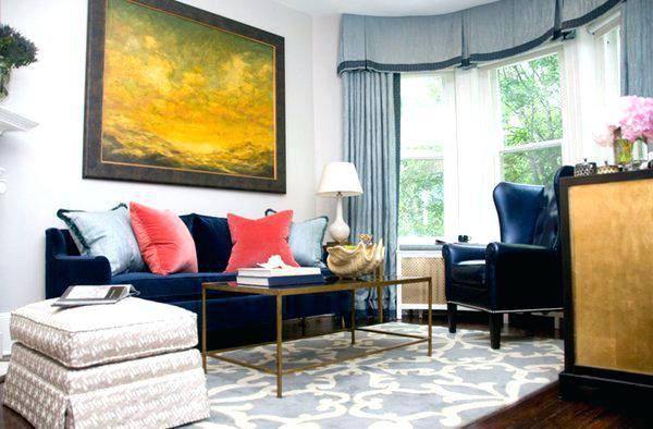 Blaues Velvet Sofa Wohnzimmer Pinterest