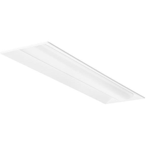 Shop Lithonia Lighting White Metal 1 X 4 Low Profile Recessed Led