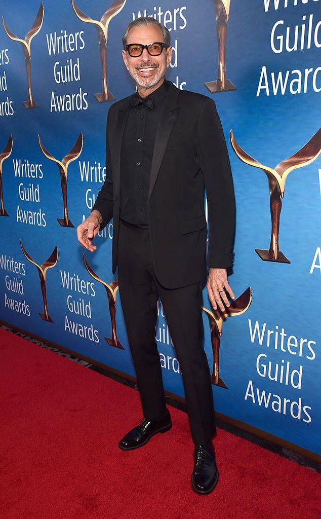 Jeff Goldblum From 2017 Wga Awards Writers Write The Beverly Writer