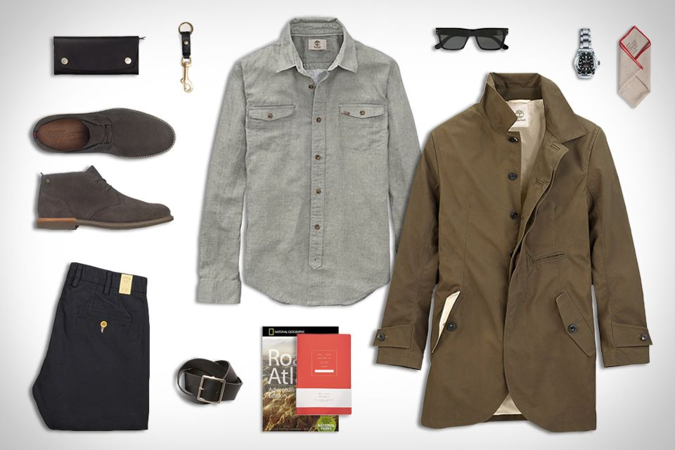 0639ac65ed50 Timberland Hubbard Linen Shirt ( 78). Timberland Brook Park Chukka ( 130).  Gant Rugger Winter Chino ( 165). Public Supply Journal ( 16).