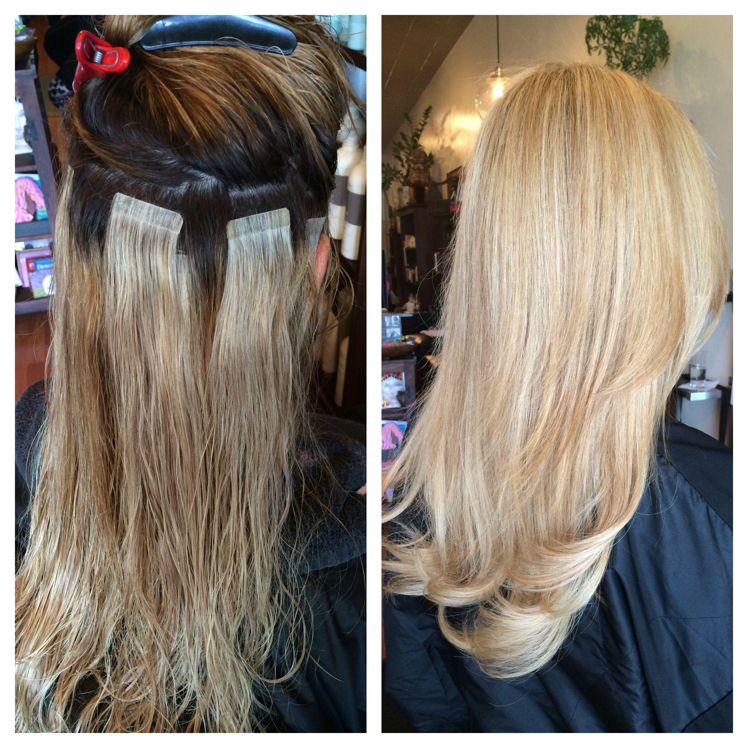 Hair Extension Miami Gentlemen Prefer Blonde By Rosvelt