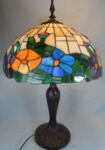 Diy Faux Stained Glass Lamp Shade