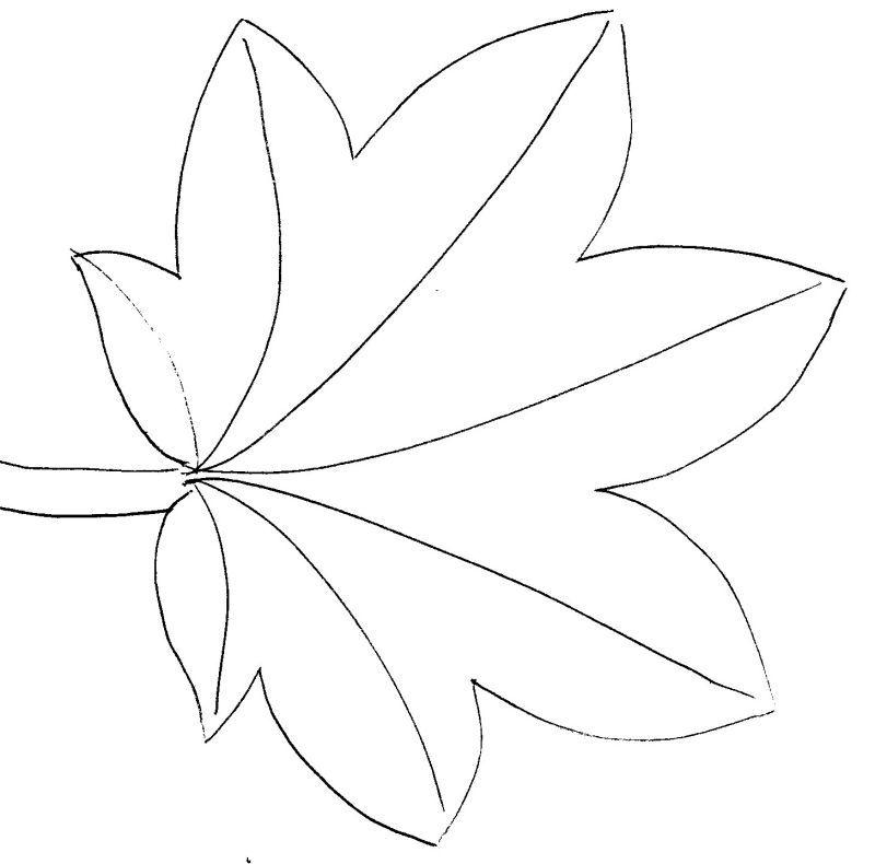 Des gabarits de feuilles – La caverne de Monia