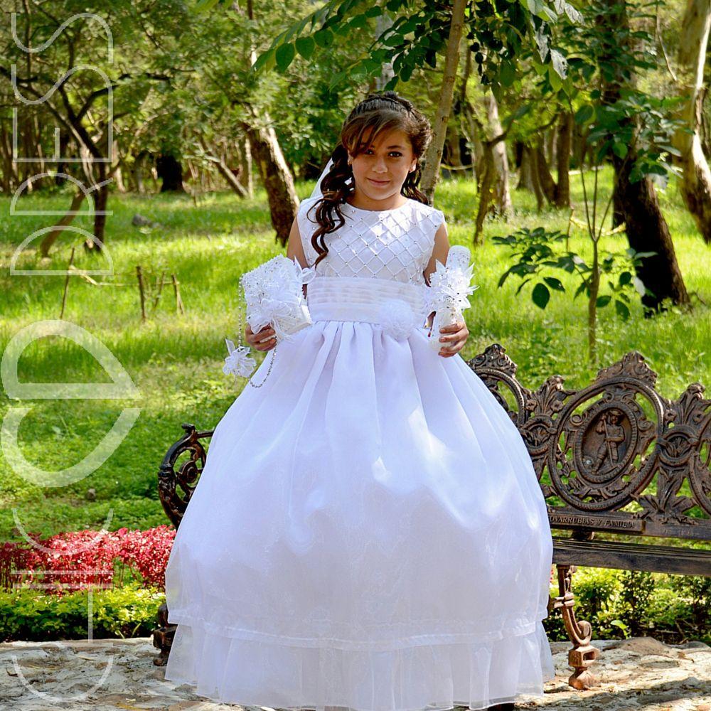 6962010f9 MODELO PC36-K Nuestro vestido de niña de comunion cuenta con una ...