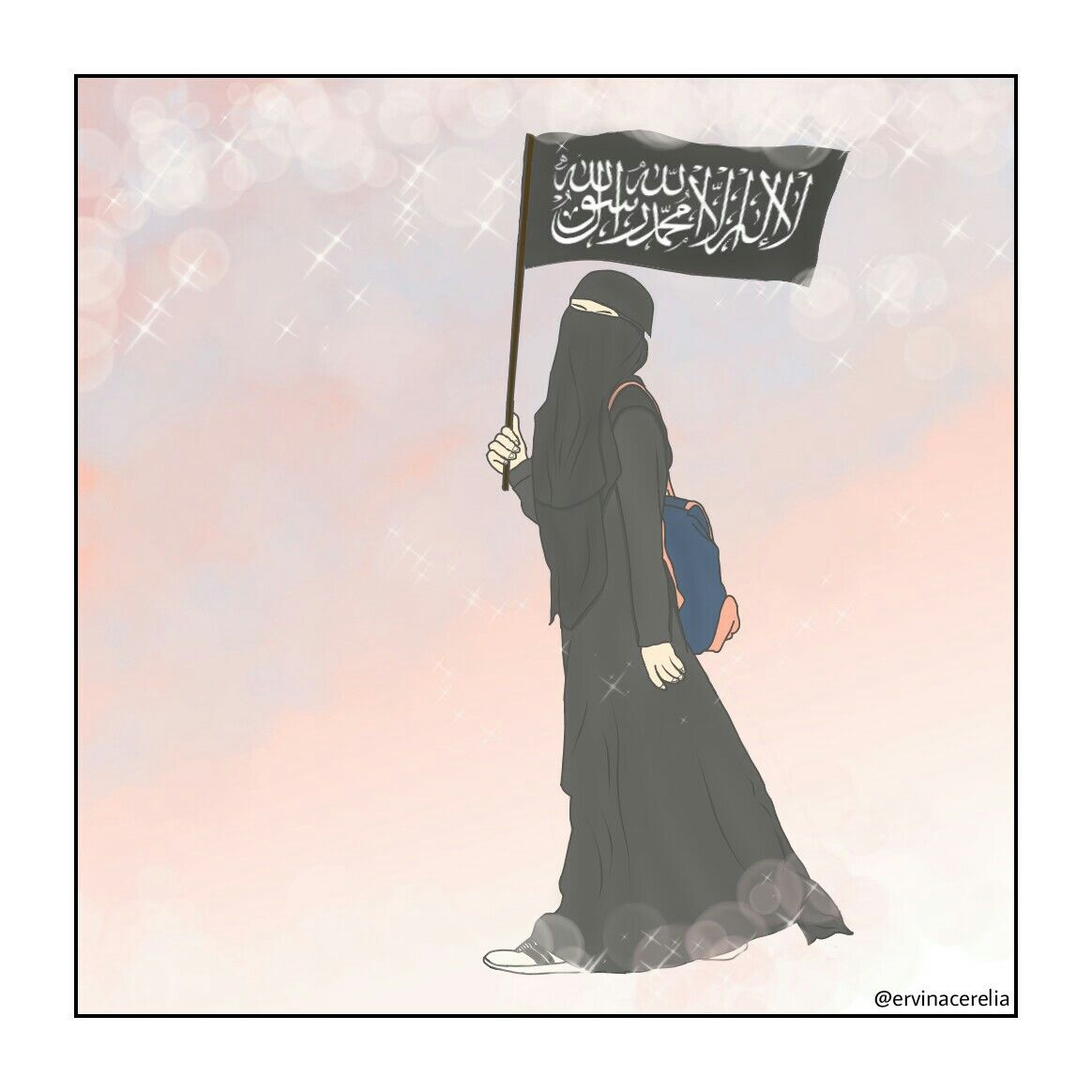 Pin Oleh A Muslim Girl Di Carsaf I Serif Di 2019 Muslim Hijab