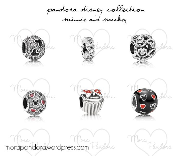 pandora disney minnie cupcake charm