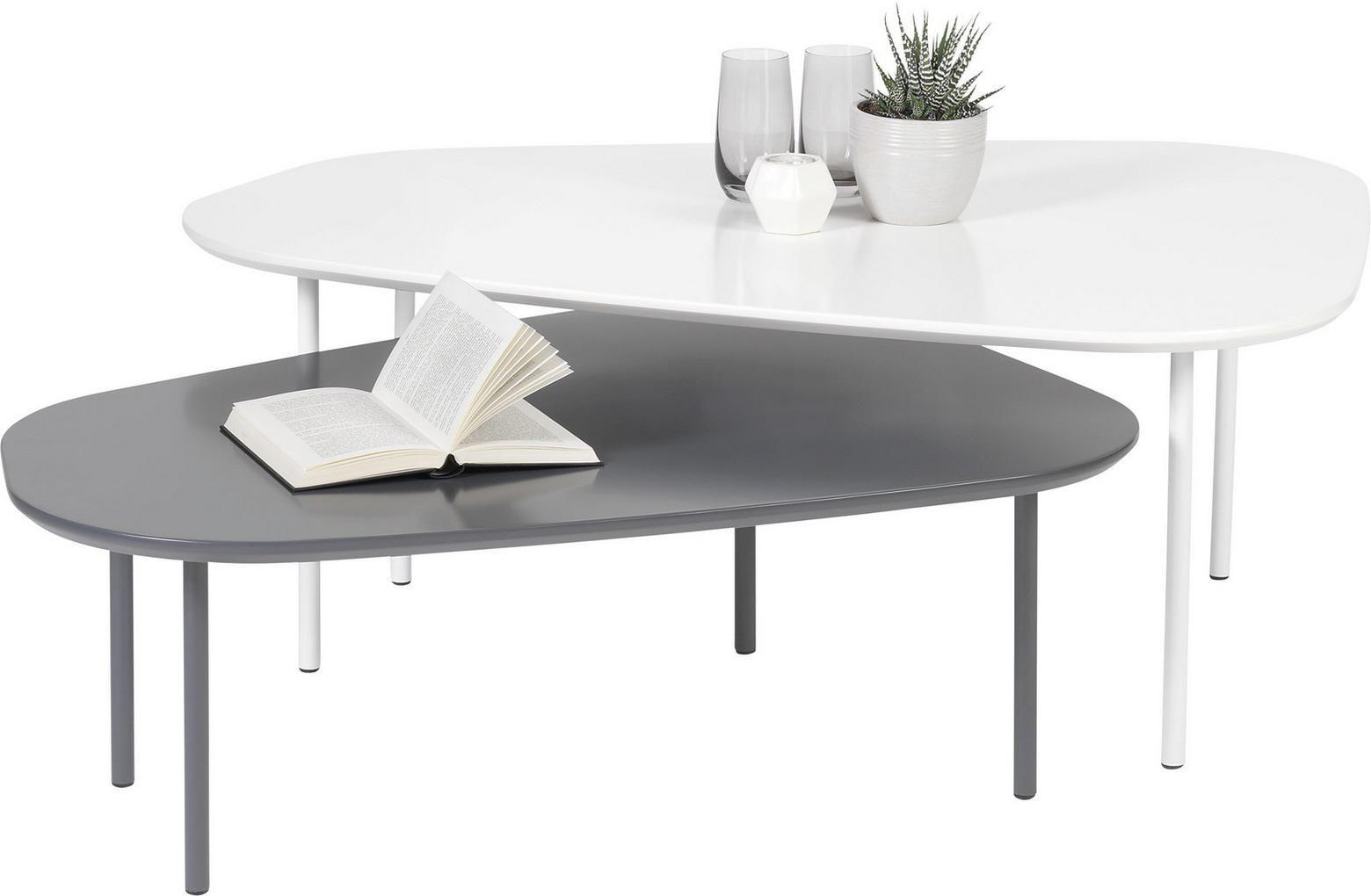 Couchtisch Set In Grau Weiss Couchtisch Couchtisch Set Tisch