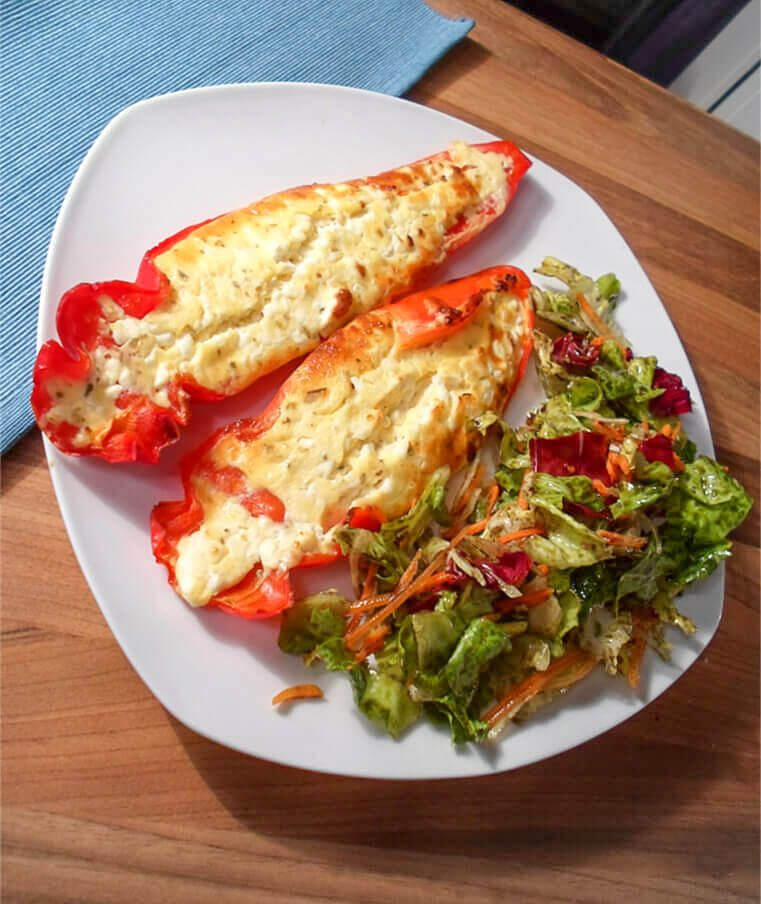 Photo of Filled Feta Peppers (Low Carb)