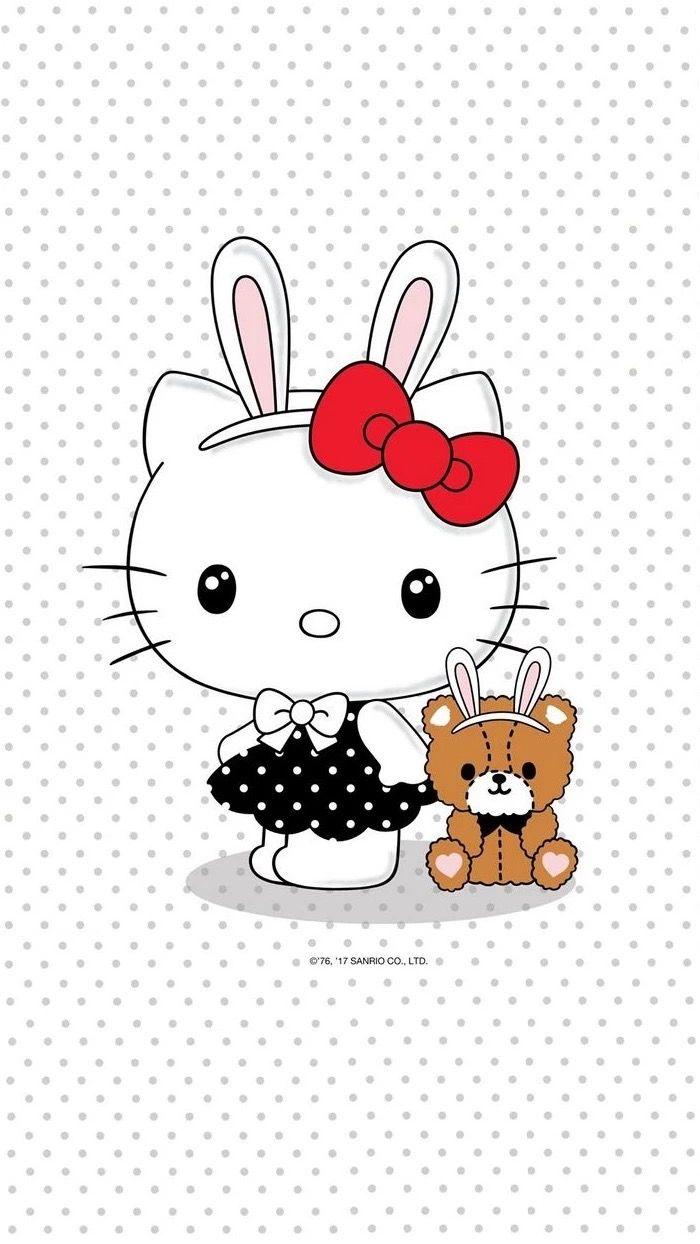 Wallpaper Kawaii Hello Kitty Hello Kitty Art Hello Kitty