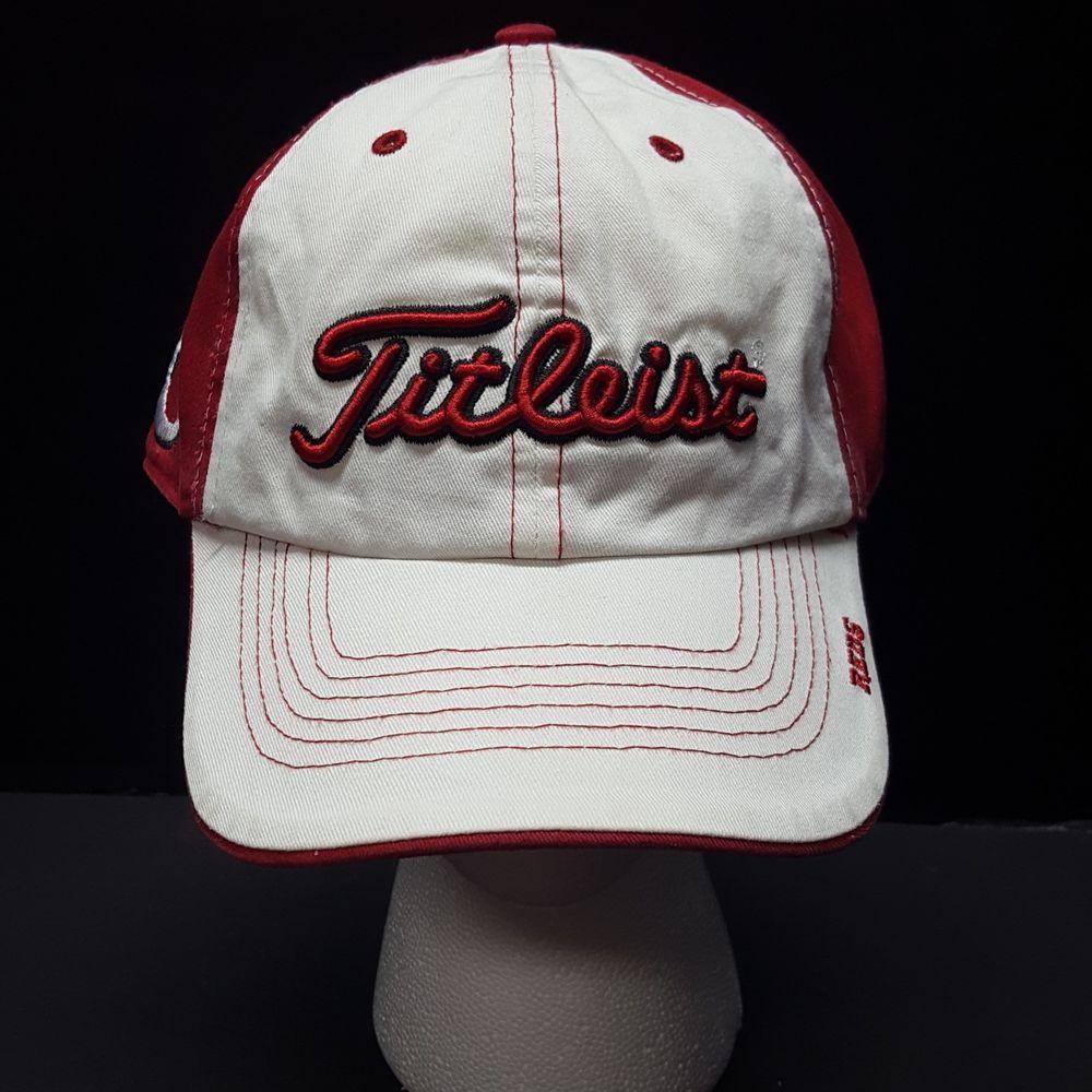 016955000e6 Cincinatti Reds Titleist Golf Baseball Cap Hat 47 Brand Strapback One Size   47Brand  BaseballCap