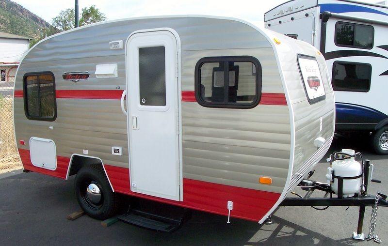 Small Trailer | Retro travel trailers, Small travel ...