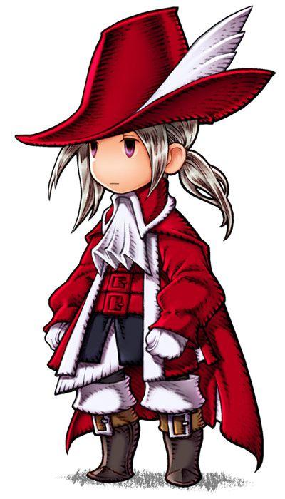 Final Fantasy Iii Luneth Red Mage Akihiko Yoshida Final