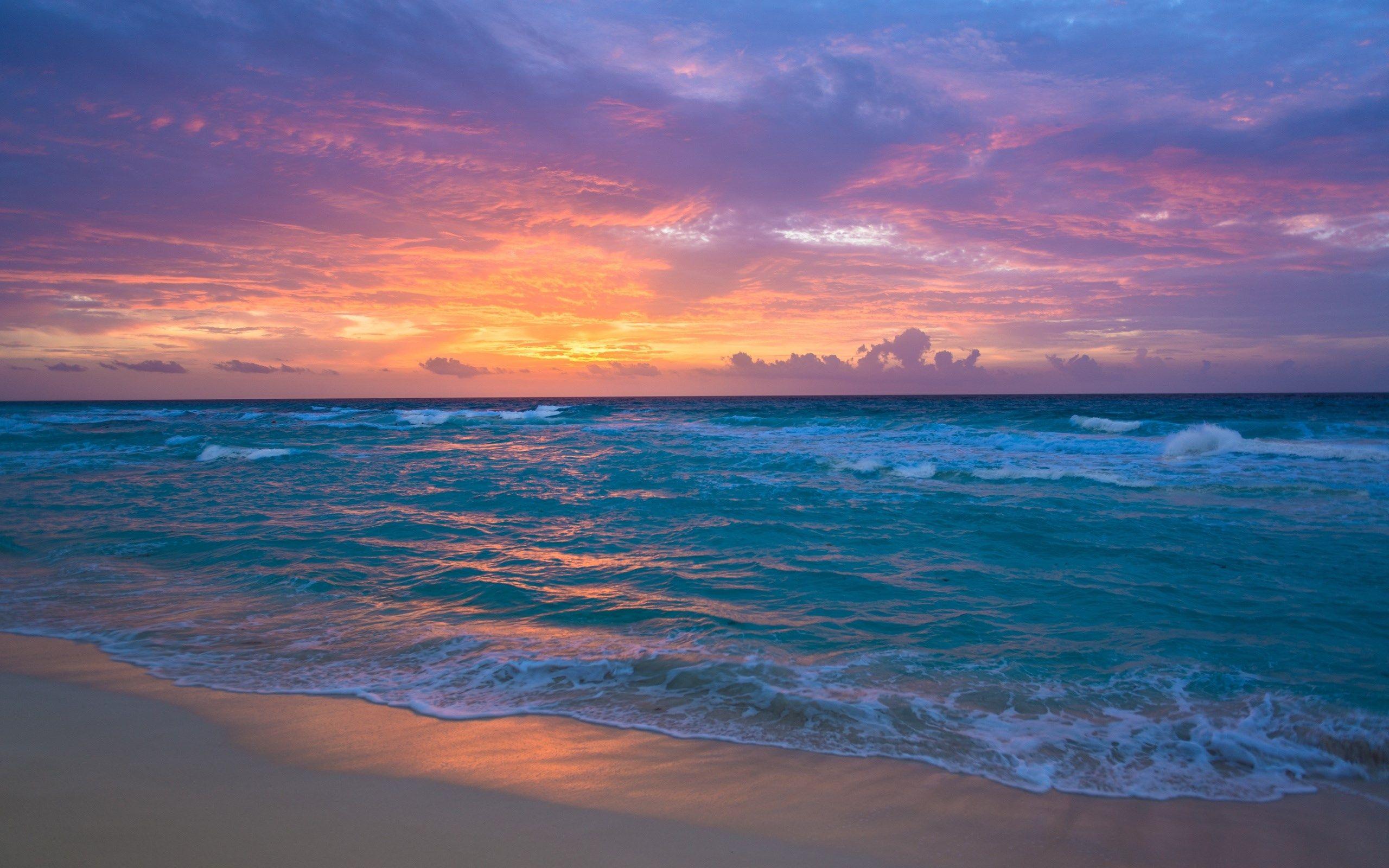 Hd Widescreen Ocean Wallpaper 2560x1600 568 Kb Beach Wallpaper Ocean Wallpaper Sunset Wallpaper