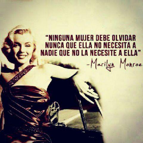 Frases De Una Chica Reality Marilyn Monroe Marilyn Monroe