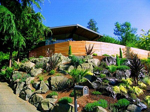 schönes haus mit exotischem steingarten und vielen pflanzen - 53 - gartengestaltung mit steinen und pflanzen