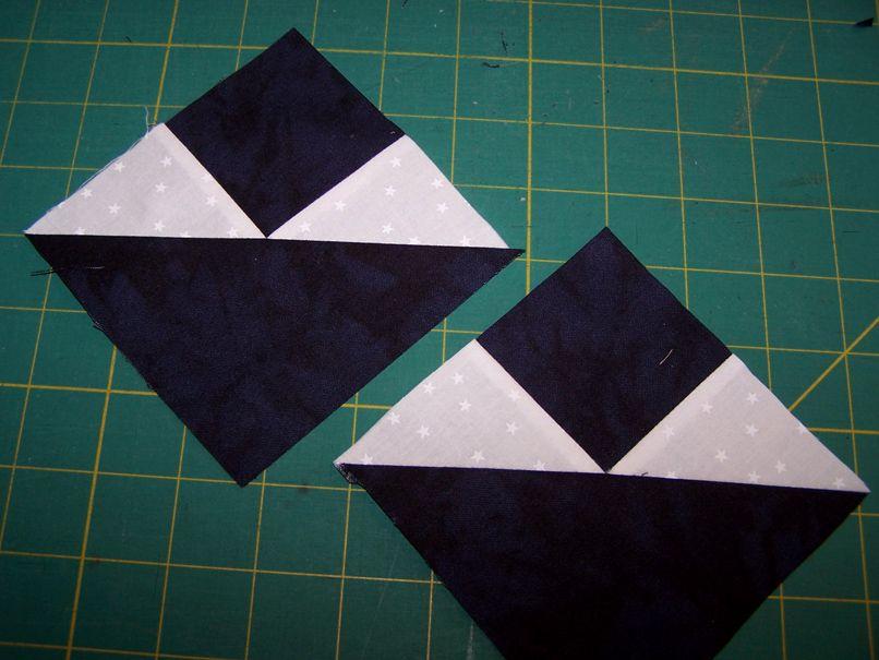 Precision Quilt Piecing Techniques Part 7 Fancy Half Square