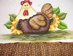 Resultado de imagem para pintura  country frutas