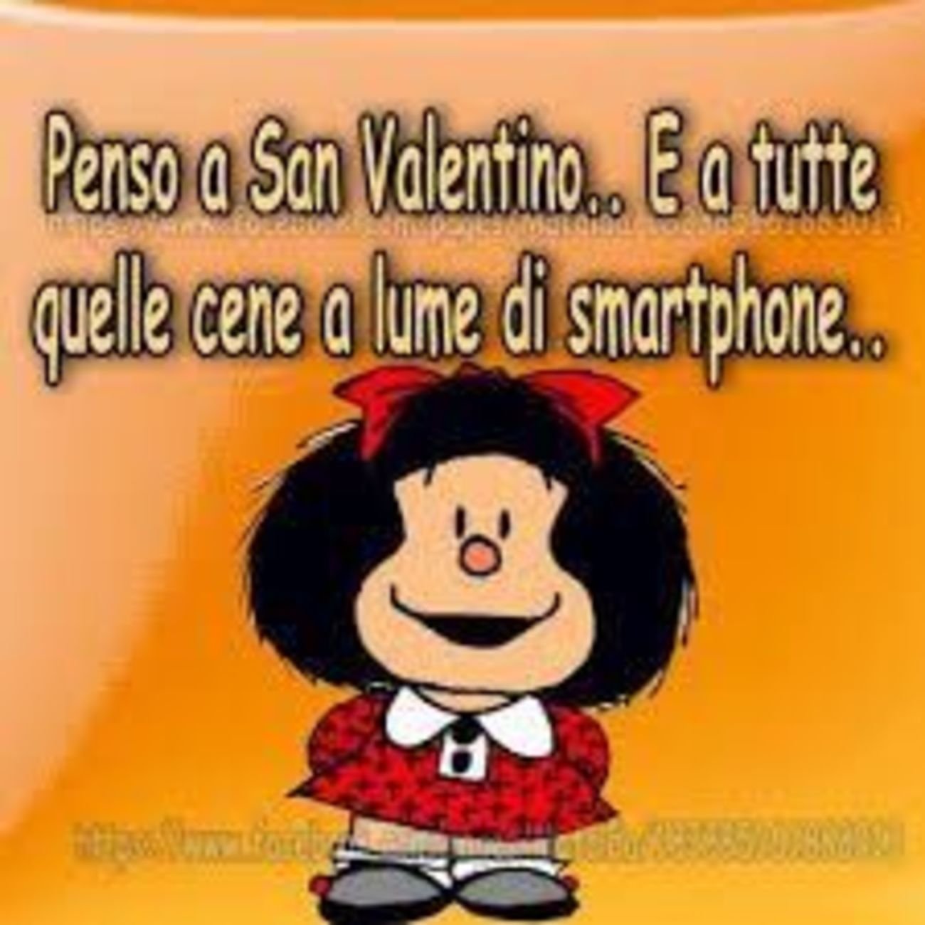 Buon San Valentino immagini Mafalda