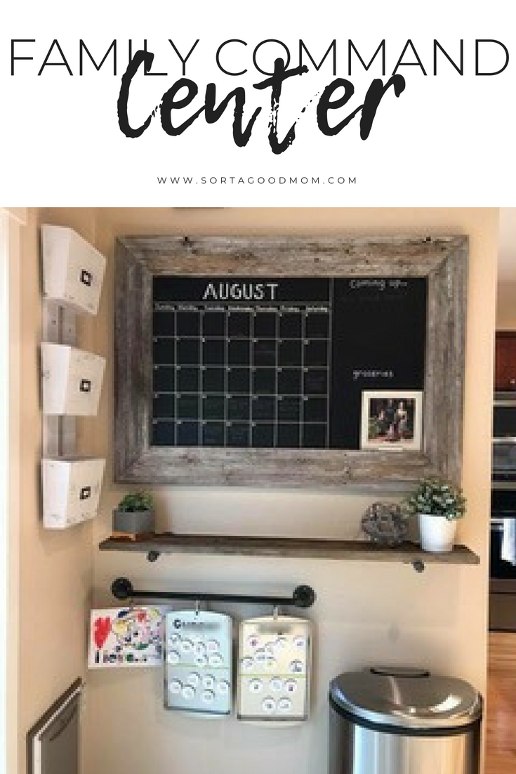 This Diy Kitchen Command Center Is The Perfect Solution To Family Organization Our Lives Ar Command Center